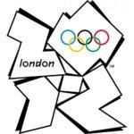 Olimpiadi Londra 2012 - il Logo