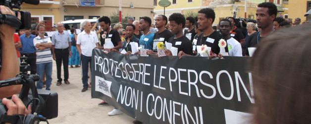 Lampedusa, terra di pescatori e migranti