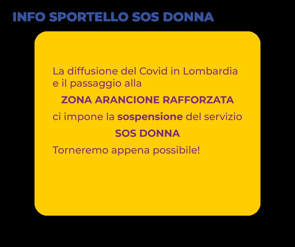 Info Sportello SOS DONNA