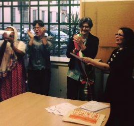Consegna diplomi fine anno: la Vice-sindaco De Cesaris