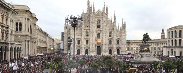 Milano_Duomo_manifestazione_2_marzo_2019