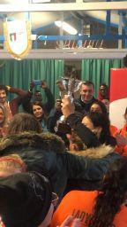 Premiazione squadra vincitrive per la Giornata contro la violenza sulle donne