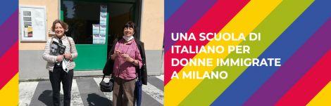 Una scuola di italiano per donne immigrate a Milano